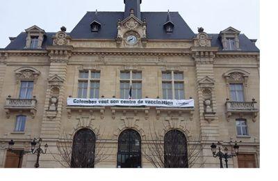 Colombes n'a toujours pas son centre de Vaccination : 3ème Ville des Hauts de Seine