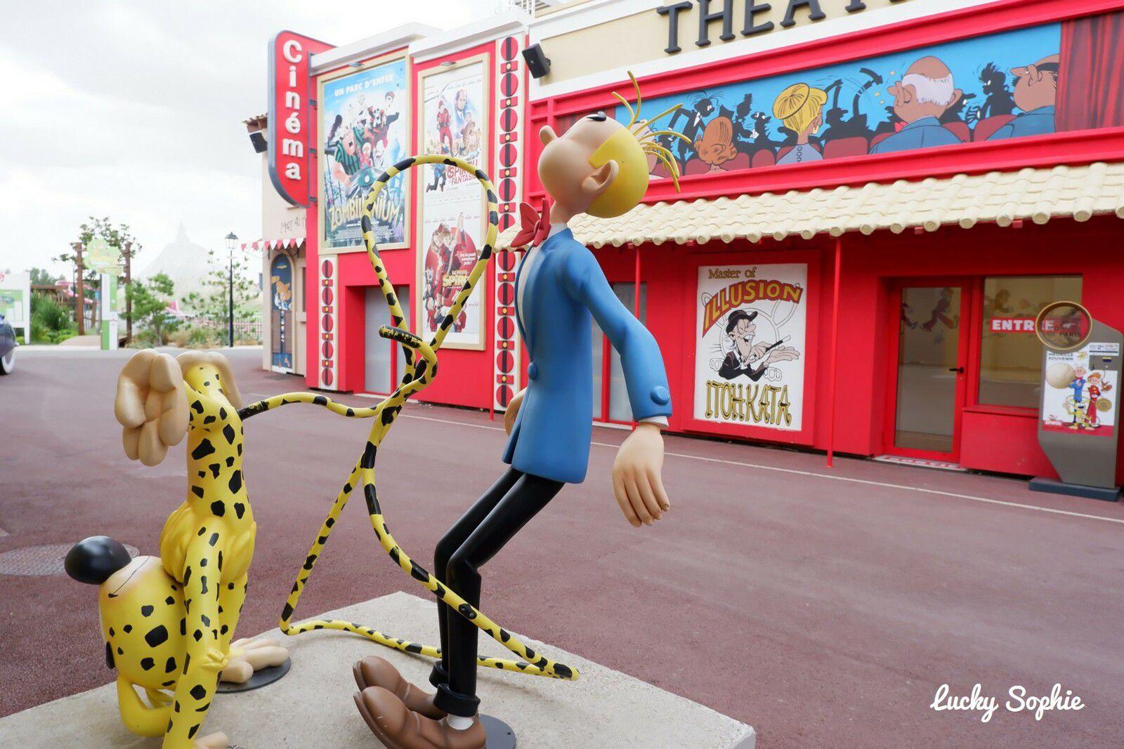 Le parc Spirou, un parc d'attractions dans le Sud Est dans un univers 100% BD.