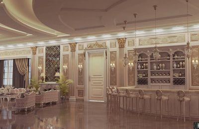 Design interior salon restaurant clasic evenimente - Amenajari interioare restaurante