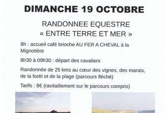 Rando à Brem sur Mer (85) dimanche 19 octobre 2014
