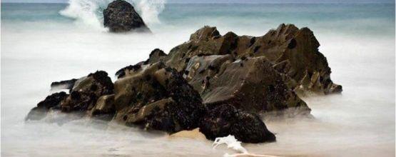 La mer, belle et indomptable...