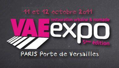 VAE Expo - PARIS Porte de Versailles 11 et 12 octobre 2011