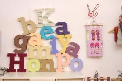 Cómo hacer letras para decorar paredes