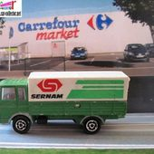 241-B CAMION SAVIEM CONTAINER MAJORETTE 1/100 - car-collector.net
