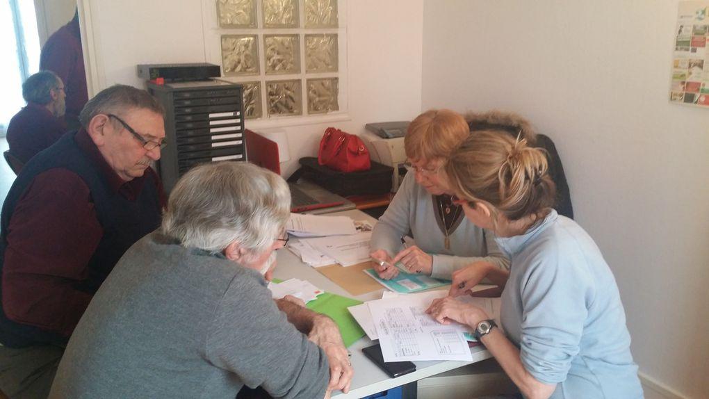 Les bénévoles d'« INFO-DETTES » maintiennent leurs compétences