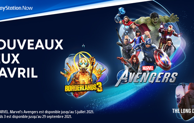 [ACTUALITE] PlayStation - Les jeux PlayStation Now d'avril 2021