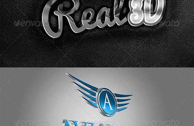 GraphicRiver – Realistic 3D Wall Logo Mockup – Smart Template V.3