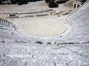 Le Théâtre d'Épidaure.