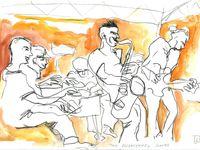 Olivier Temime, projet Volunteered slaves (Ferté jazz festival, juin 2014)