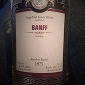 Banff 36Y 1975 / 2012 MoS. - Passion du Whisky