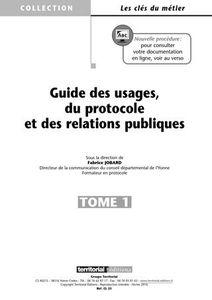 """Au sommaire de la prochaine mise à jour de mon """"guide des Usages, du Protocole et des Relations Publiques"""""""
