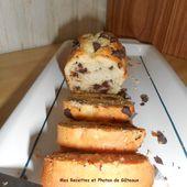 Cake au mascarpone et pépites de chocolat - Mes recettes et photos de gâteaux