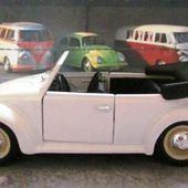 VW COX CABRIOLET 1/43 RIO MEIN ERSTER KAFER - car-collector.net