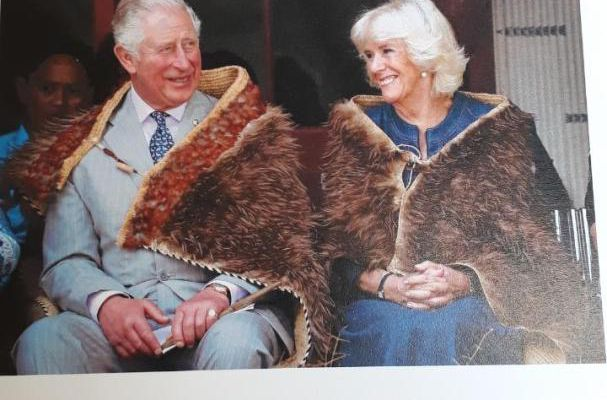 Reception d'une carte du Prince Charles