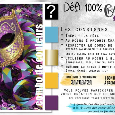 Carterie : Défi crazylittlecraft