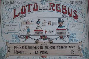 LE LOTO DES REBUS de RT, charades et énigmes