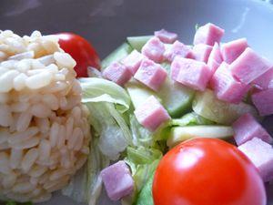 Salade risotto