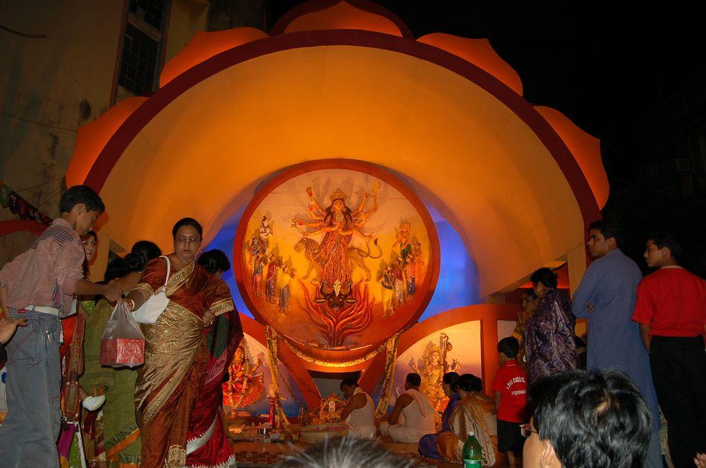 Calcutta : la Durga Puja, le Marché aux Fleurs, ses temples et le Victoria's Palace