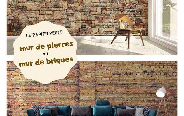 | Match Déco | Mur de pierres ou mur de briques