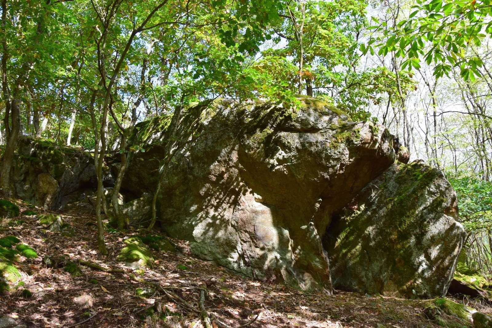 Le rocher du Sanglier