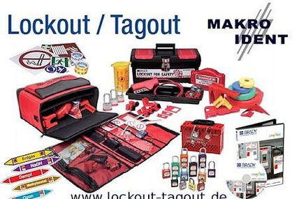 Lockout-Tagout: Verriegelungen, Warnhinweise, Training & Software