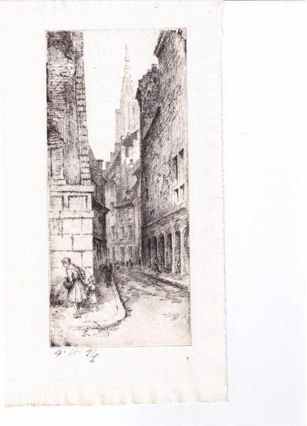 Stasbourg est la ville des études, des amis de Emile Schneider aux frères Matthis.