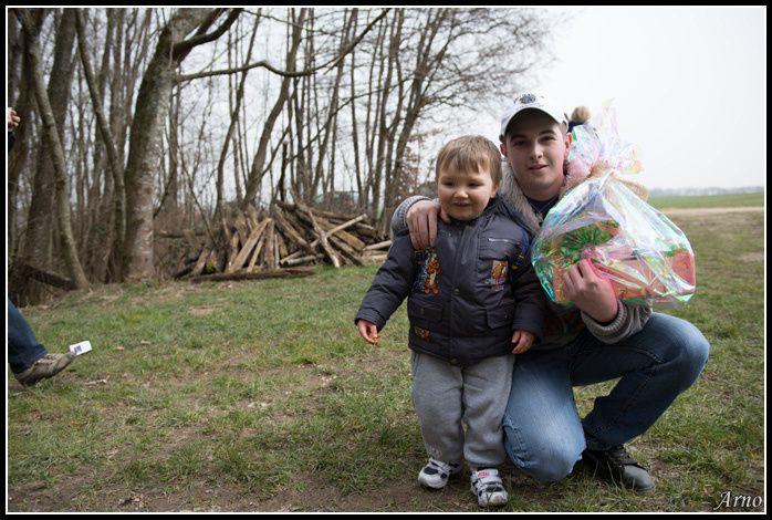 La grande chasse aux oeufs de la Fraise. 6 avril 2013.