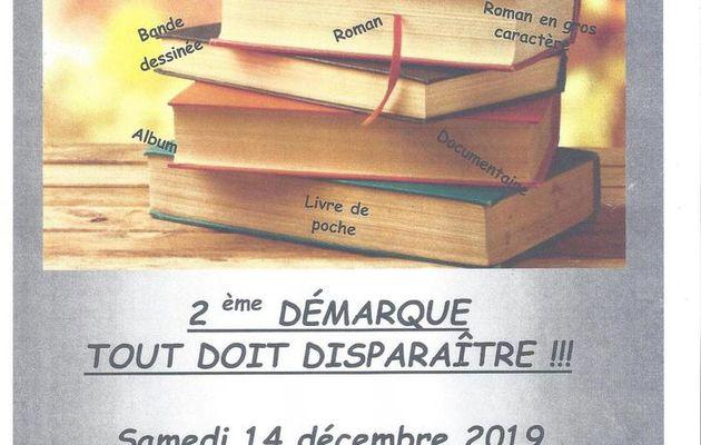 14 décembre - Braderie livres ... 2ème démarque
