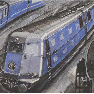 En 1937, le PLM mettait en service la plus puissante locomotive Diésel du monde.