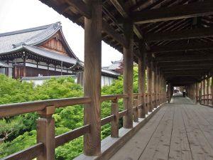 """Le """"Pont qui Traverse le Ciel"""", vide! A la saison des momiji, il est quasi-impossible d'y circuler tant il est noir de monde!"""