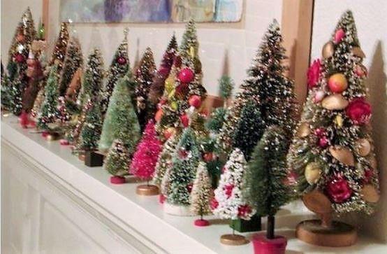 Tuto faire de petits sapins de Noël