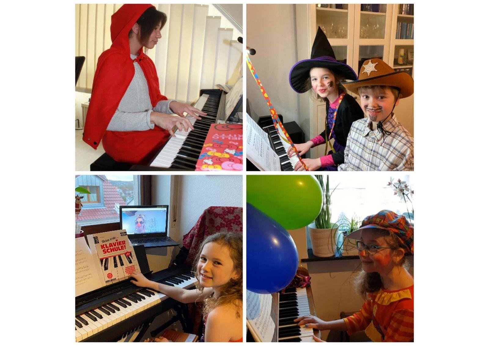 Unterricht machte in der Faschingswoche an der Sing- und Musikschule Veitshöchheim sehr viel Spaß