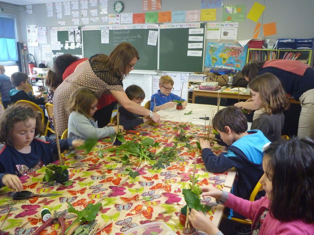 Les ateliers de la classe de Marie-Hélène en CE1
