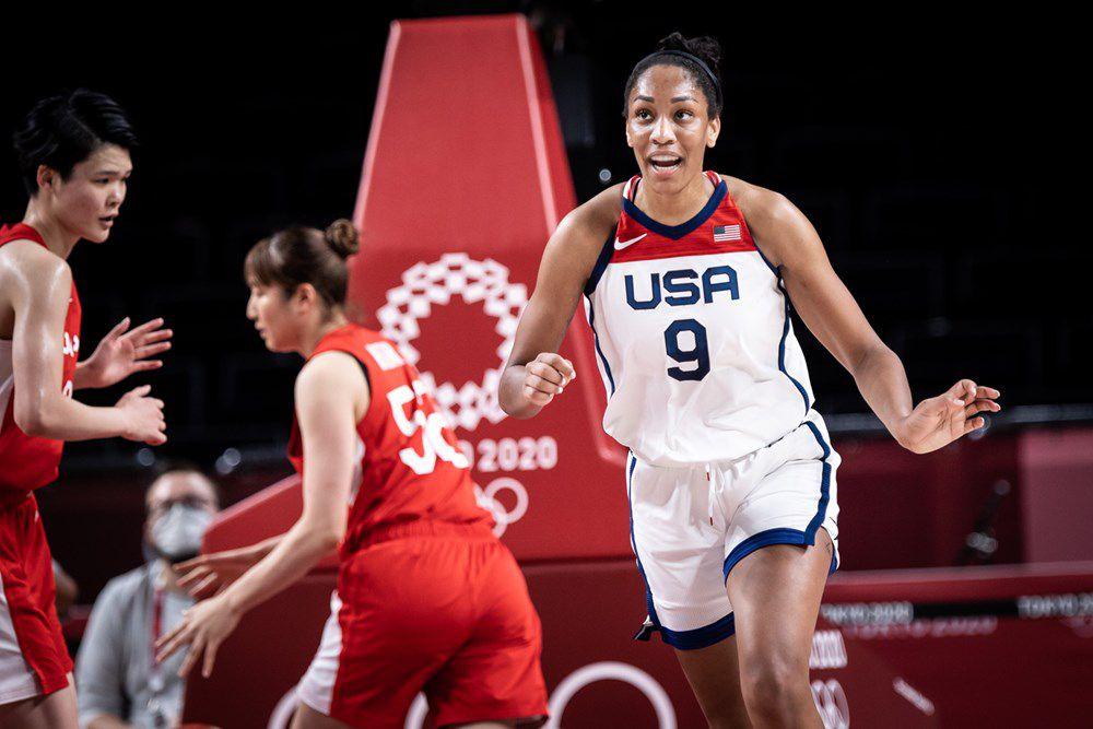 Jeux Olympiques : Sans forcer, la Team USA inflige au Japon une défaite de 17 points