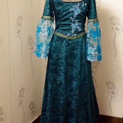 Robe médiévale fantastique
