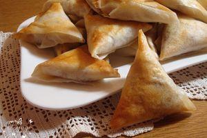 Samoussas au poulet et 5 épices