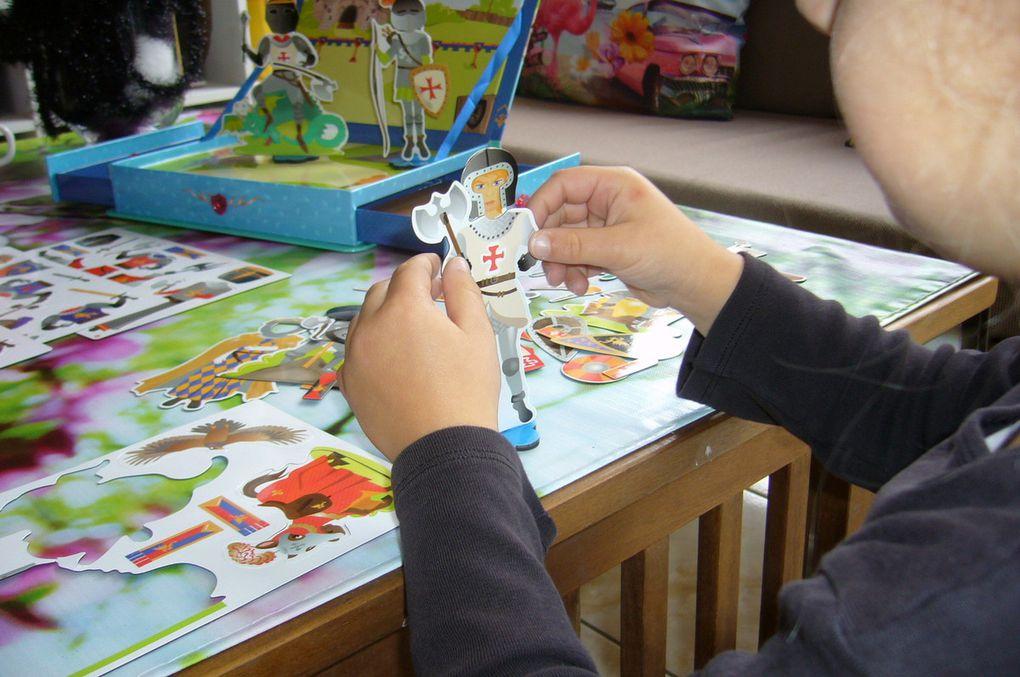 Les enfants testent les coffrets Magnetik avec Doux Moulin