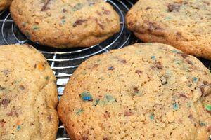 Les cookies aux M&Ms