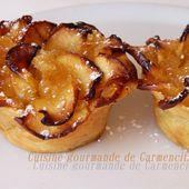 Roses et dômes feuilletées aux pommes et à la crème au citron. - Cuisine gourmande de Carmencita