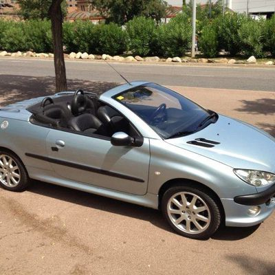 PEUGEOT 206 COUPE CABRIO 52.000Kms  5.700€