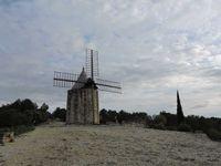 Fontvieille, les moulins