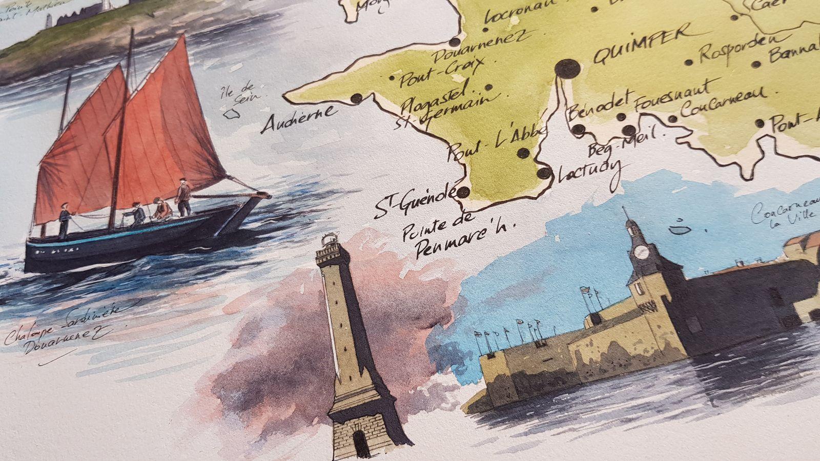 Le Finistère, la fin...