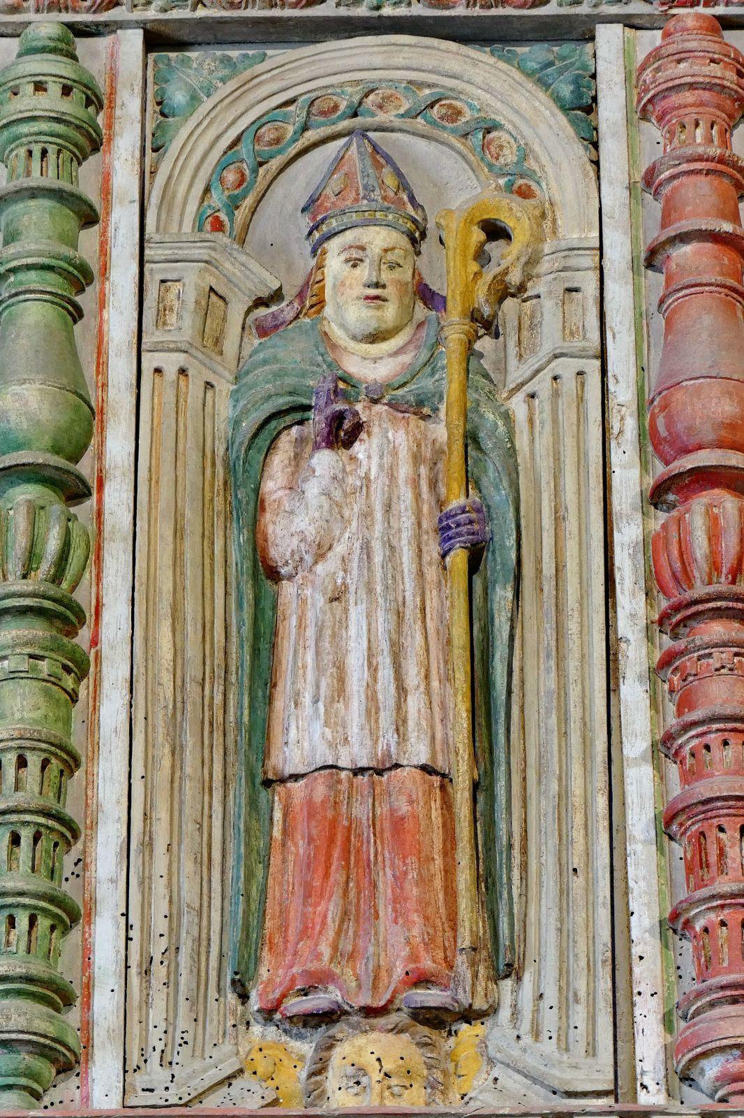 Le jubé de l'église Saint-Yves de La Roche-Maurice (29)