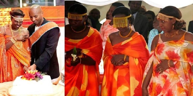 Imágenes de los banyankoles, la tribu ugandesa en la que la tía de la novia tiene que testar la virginidad de sus sobrina y la virilidad del futuro marido de ésta, antes de consumar su matrimonio.- El Muni.