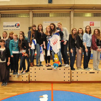 Podium France Volley Ball Dieppe 2012