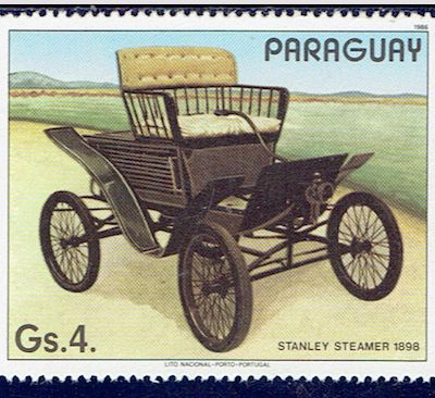 L'automobile Stanley Steamer de 1898