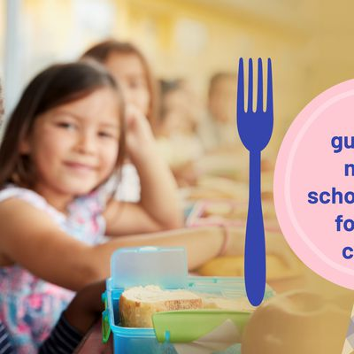 Food guidelines nurseries should follow for younger children