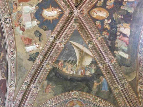 La grade Chapelle des Espagnoles - Santa Maria Novella - Florence
