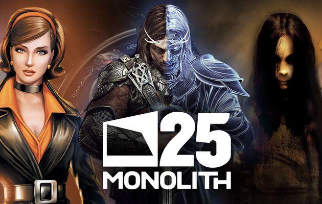 Monolith Productions fête ses 25 ans avec un livestream le 25 octobre