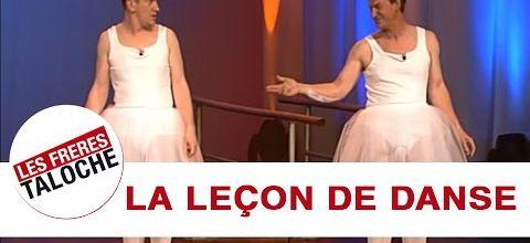 La leçon de danse des frères Taloche et Annie Cordy